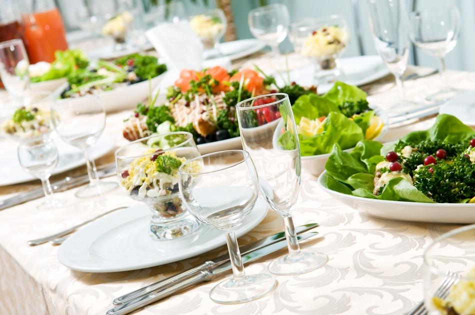 photodune-1308800-closeup-catering-table-set-s